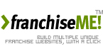 franchiseME! - franchisee website builder & management system