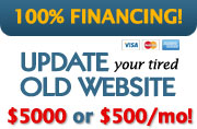 100% Financing Available! - $5000 or $500/mo. - YOU CHOOSE!