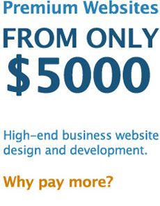 Premium Website Design & Development from $5000