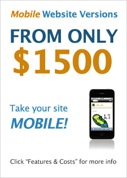 Mobile websites only $1500