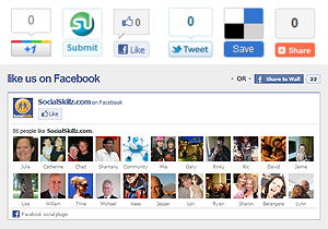 Social media addons for your webpage