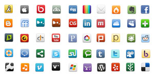 Just some of the social networks we work with