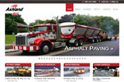 Website Design & Development, Website Maintenance and Hosting for AshlandPaving.com | Toronto