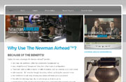 Website Design & Development, Content Management System for NewmanAirhead.com
